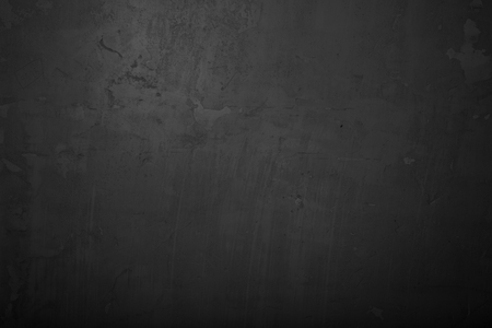 black stone: Highly detailed and empty concrete wall.  Background, horizontal Stock Photo