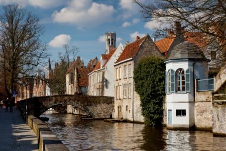 BRUGES in Belgio Archivio Fotografico - 23252224