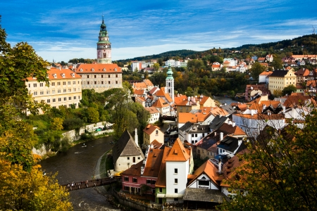Cesky Krumlov in Czech photo