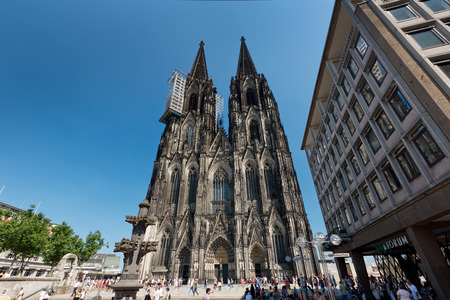 Cologne Cathedral, Cologne, Germany Editorial