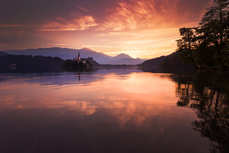 bled: BLED IN SLOVENIA
