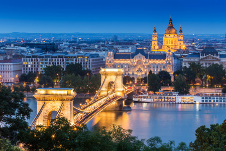 cityscapes: Budapest in Hungary