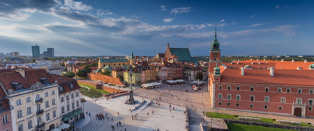 WARSAW OLDTOWN IN POLAND
