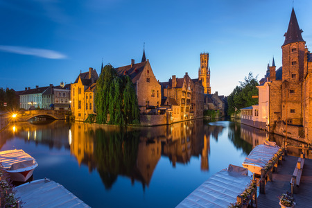 house gable: Bruges in Belgium