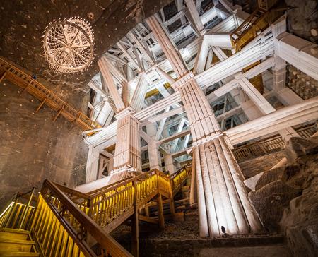 Wieliczka Salt Mine (13th century), one of the world\'s oldest salt mines.
