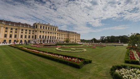 schloss schoenbrunn: Vienna in Austria Editorial