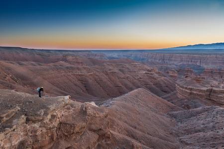 Landscape of kazakhstan Banco de Imagens