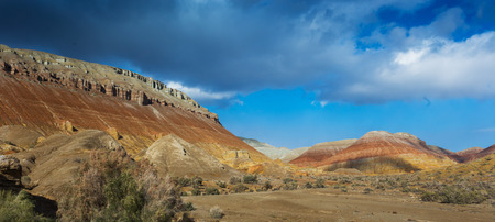 tyan shan mountains: Landscape of kazakhstan Stock Photo