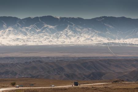 kazakhstan: Landscape of kazakhstan Stock Photo