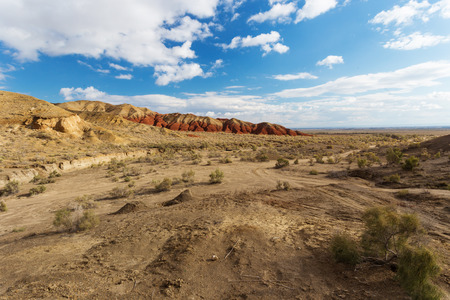 tyan shan: Landscape of kazakhstan Stock Photo
