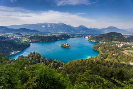 bled: Bled Lake, Slovenia, Europe