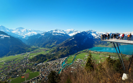canton berne: Interlaken in Swiss