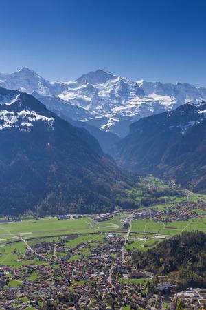 canton berne: Interlaken in Swiss