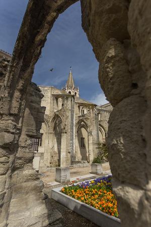 avignon: Avignon in France Stock Photo