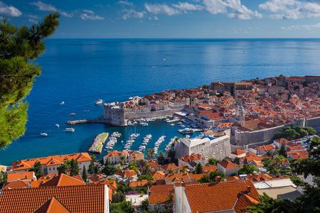 Dubrovnik in Croatia Archivio Fotografico