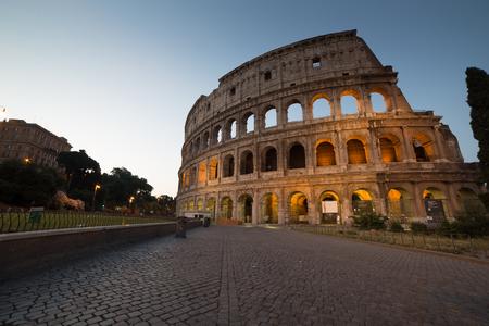 Rome in Italy Archivio Fotografico