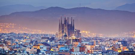 スペインのバルセロナ 報道画像