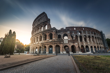 colosseum: Colosseum in Rome Italy