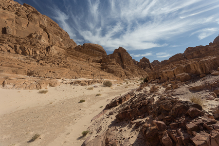 sinai: White Canyon in Egypt