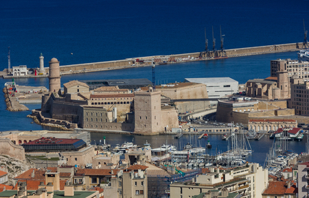 recollection: Marseille,France Stock Photo