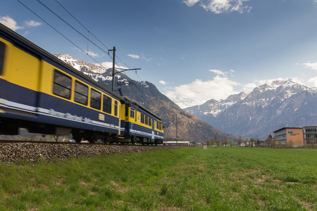 canton berne: Landscape in Interlaken, Switzerland