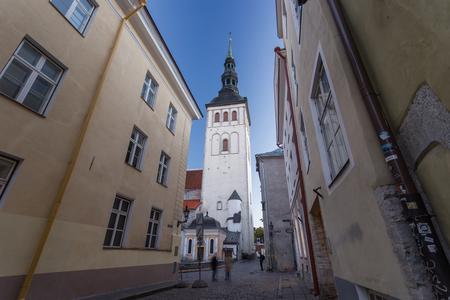 old city: Tallinn, Estonia at the old city.