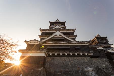 castle: Kumamoto Castle , Kumamoto in Kumamoto Prefecture Editorial