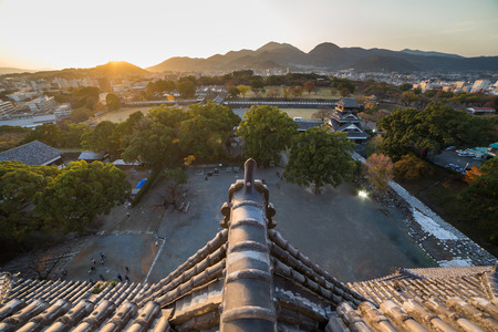 Kumamoto Castle , Kumamoto in Kumamoto Prefecture Editöryel