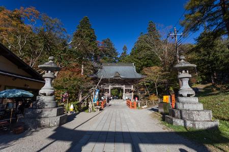 Temple in Gunma ,Japan Editöryel