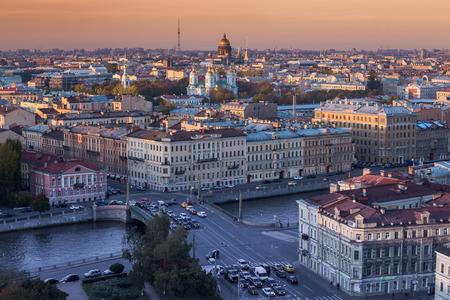 St petersburg in Russia Stok Fotoğraf