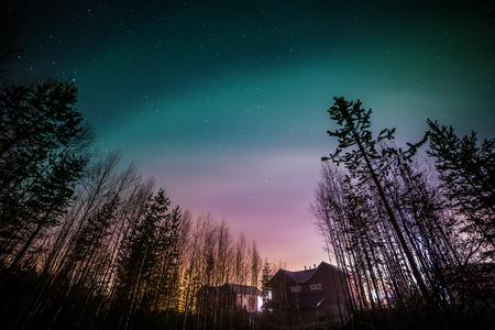 winter finland: Santa Claus Village. Rovaniemi, Finland,