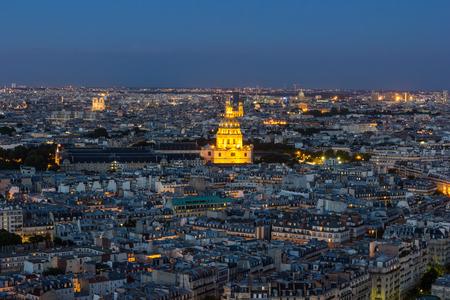 Paris Panorama Stok Fotoğraf