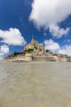 mont saint michel: Mont saint michel in france