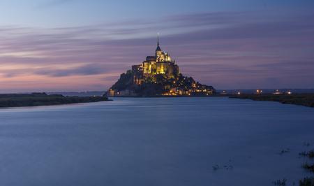 Mt Saint Michel in France Editöryel