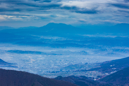 Nagano Prefecture landscape, Japan