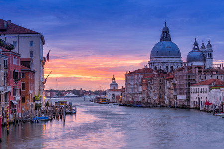 Venice, Italy at sunset