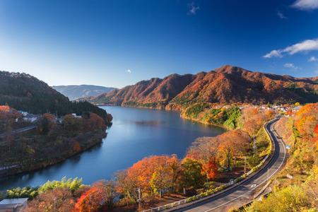 Meraviglia naturale a Minakami Giappone Archivio Fotografico - 53672373