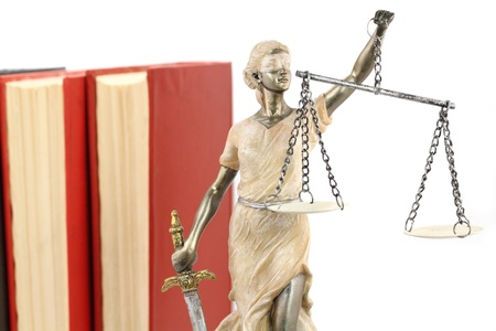 Justice  greek themis,latin justitia  blindfolded with scales and sword