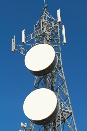 Mobile phone base station Stock Photo