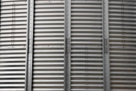 silo corrugated steel sheet background