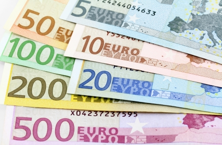 20 euro: Euro banknotes Five to five hundred