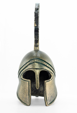 roman soldier: Ancient greek helmet replica