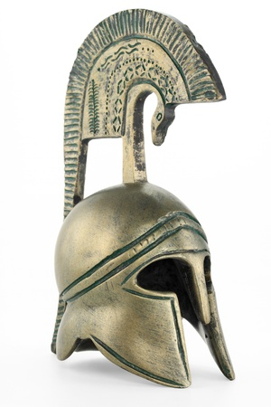 Ancient greek helmet replica