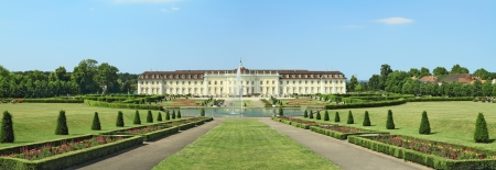 Ludwigsburg palace in Ludwigsburg, Baden-Wurttemberg, Germany Editorial