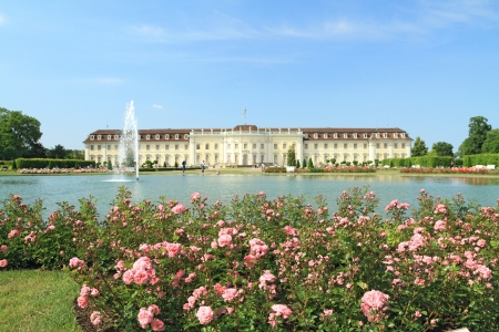 spout: Ludwigsburg palace in Ludwigsburg, Baden-Wurttemberg, Germany Editorial