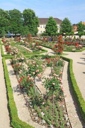 Jardin du palais de Ludwigsburg � Ludwigsburg, Bade-Wurtemberg, Allemagne �ditoriale