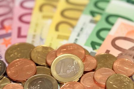billets euro: Les billets et pièces Un cent à cinq cents