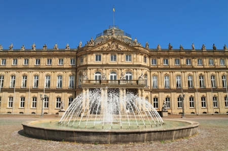 stuttgart: The New Palace, in Stuttgart ,Germany Editorial