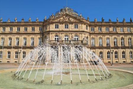 stuttgart: The New Palace, in Stuttgart ,Germany Editorial