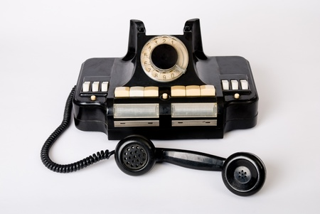 old technology: tecnologia telefono vecchio, telefono storico